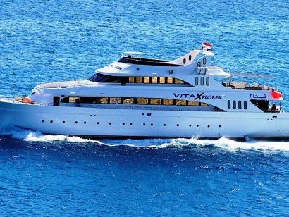 Vita Xplorer Croisière plongée en Egypte.Un excellent bateau à prix doux.