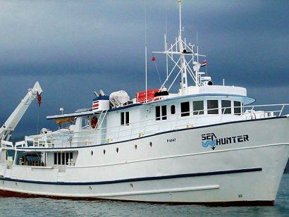 Plonger à l'île Cocos avec le seahunter et Dive-Shop.ch Travel