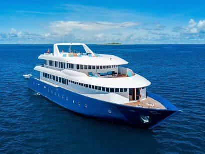Seafari Explorer aux Maldives. Croisière plongée à bord d'un bateau récent de haut standing.